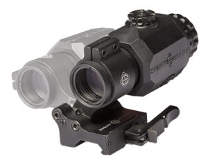 ightmark XT-3 Tactical Magnifier with LQD Flip to Side Mount