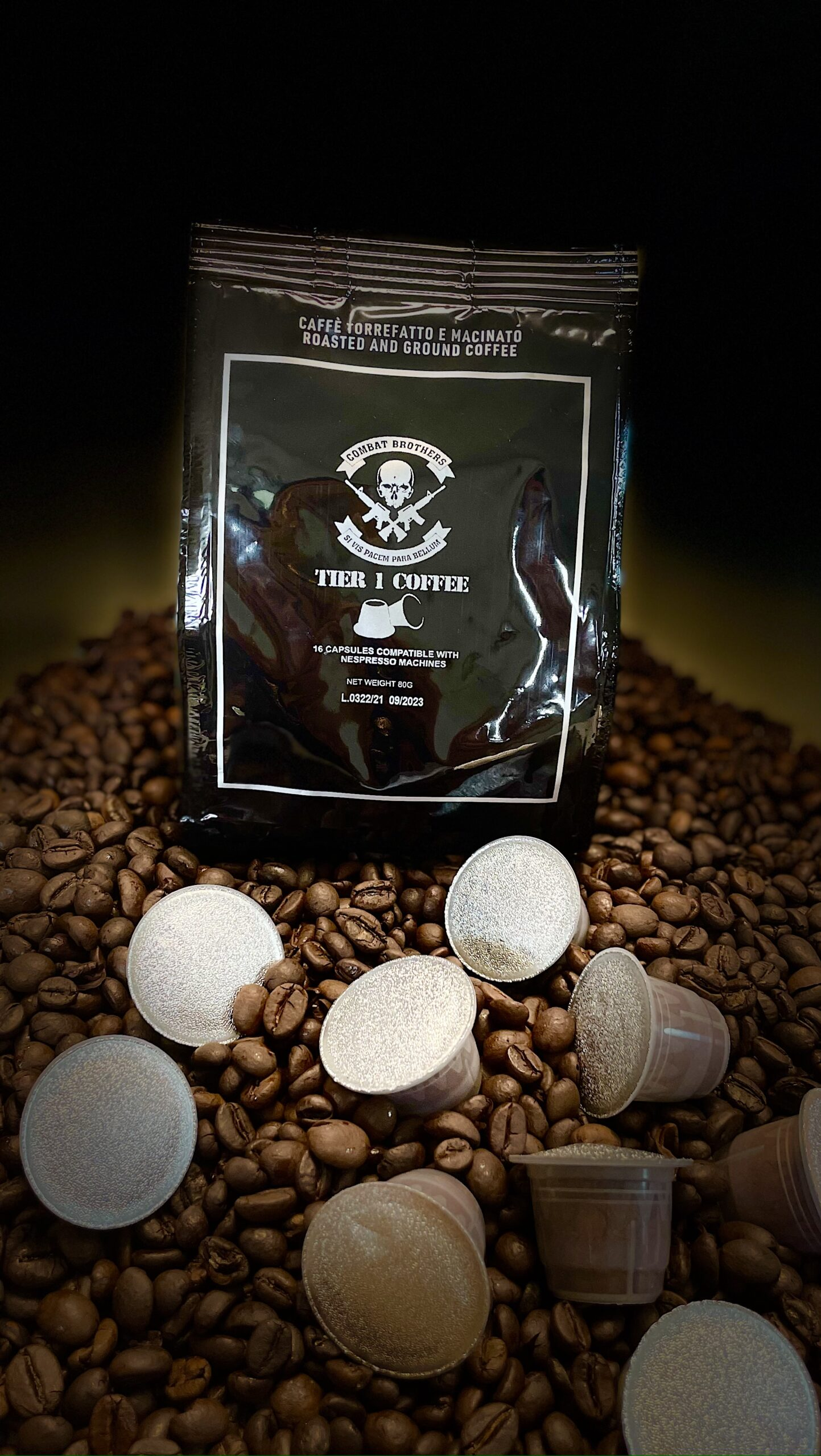 Combat Brothers Tier 1 Nespresso Kapseln