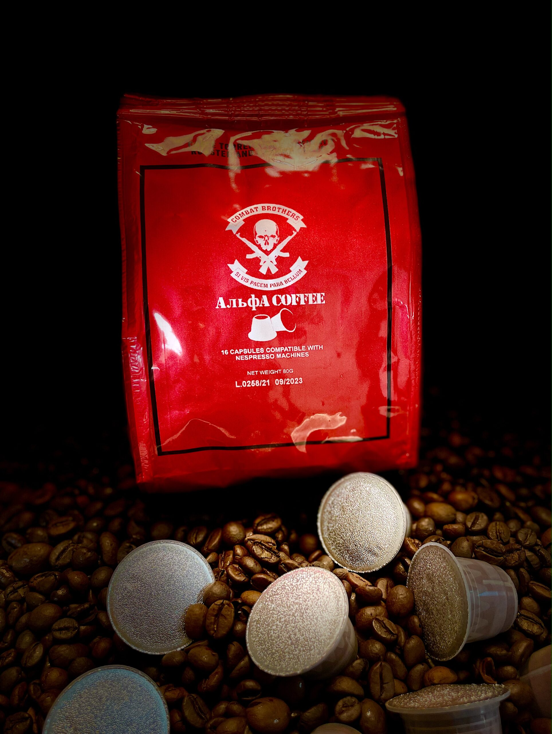 Combat Brothers Alpha Coffee Nespresso Kapseln